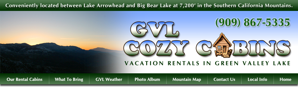 Welcome To Green Valley Lake   The Highest Community In The San Bernardino  Mountains   At 7,200 Feet. Green Valley Lakeu0027s Cozy Cabin Rentals Are An  Ideal ...